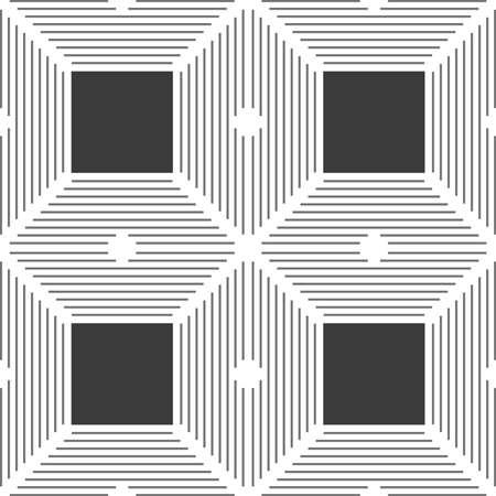 Seamless stylish geometric background Ilustrace