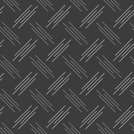 tillable: Seamless stylish geometric background. Modern abstract pattern. Flat monochrome design.Monochrome pattern with white and gray diagonal uneven stripes. Illustration