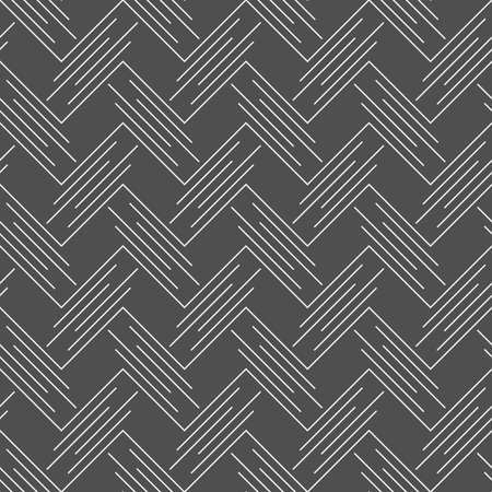 Seamless stylish geometric background. Illustration