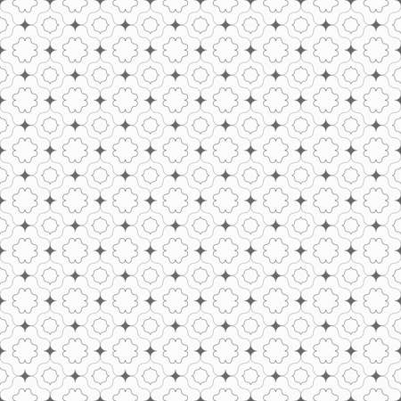 tillable: Seamless stylish geometric background. Modern abstract pattern. Flat monochrome design.Gray ornament with dark gray pointy squares. Illustration
