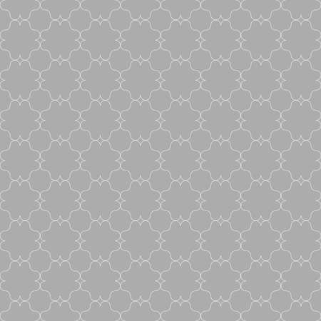 grid pattern: Seamless stylish geometric background. Modern abstract pattern. Flat monochrome design.Gray ornament with slim gray eastern grid.