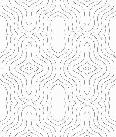 tillable: Seamless stylish geometric background. Modern abstract pattern. Flat monochrome design.Slim gray ornament.