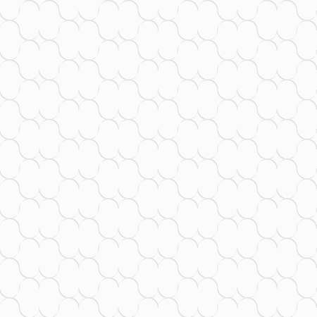 perforated: Seamless geometric background. Modern monochrome 3D texture. Pattern with realistic shadow and cut out of paper effect.3D white lip shapes.