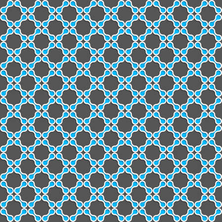 grid paper: Seamless geometric background. Modern 3D texture. Pattern with realistic shadow and cut out of paper effect.Blue shapes grid.