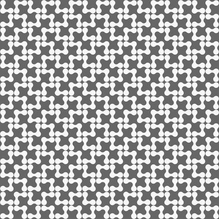 tillable: Seamless stylish geometric background. Modern abstract pattern. Flat monochrome design.Dark gray ornament with rounded shapes forming triangles. Illustration