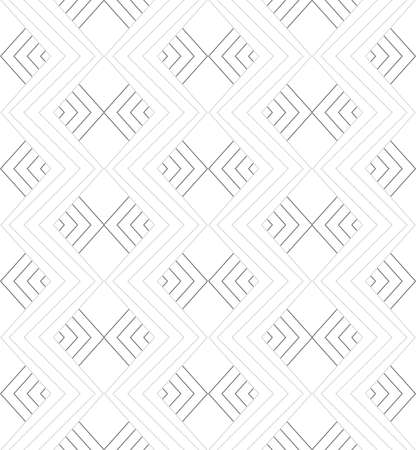 tillable: Seamless stylish geometric background. Modern abstract pattern. Flat monochrome design.Gray ornament with corners.