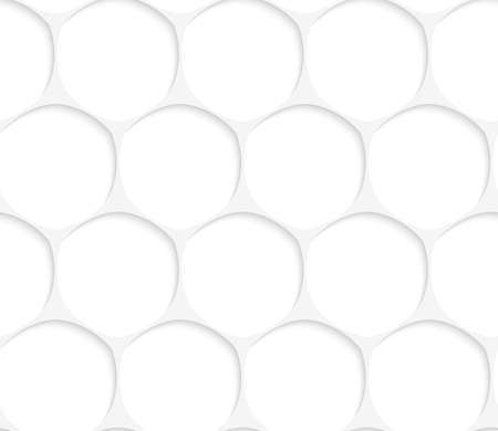 grid paper: Seamless geometric background. Pattern with realistic shadow and cut out of paper effect.White 3d paper.3D white oval grid.