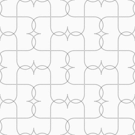 pointy: Seamless stylish dotted geometric background. Modern abstract pattern made with dotts. Flat monochrome design.Gray dotted intersecting pointy.