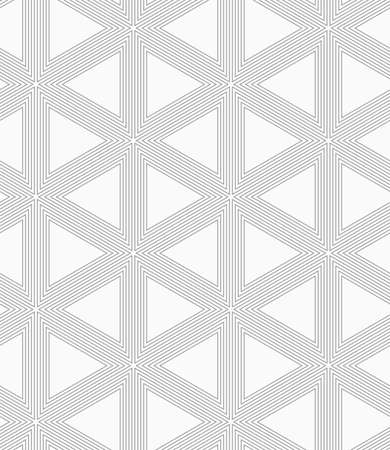 grid pattern: Abstract geometric background. Seamless flat monochrome pattern. Simple design.Slim gray triangle grid.