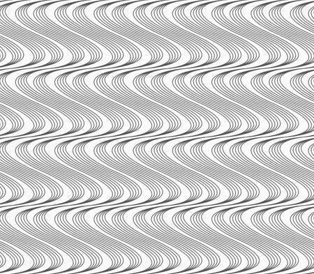 tillable: Abstract geometrical pattern. Modern monochrome background.Flat gray with hatched vertical waves.