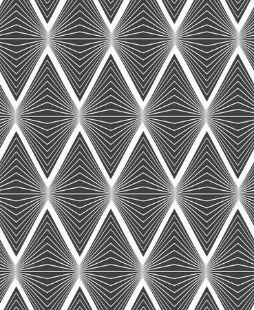 Abstract geometrical pattern. Modern monochrome background.Flat gray with horizontal onion shapes.