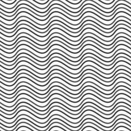 tillable: Abstract geometrical pattern. Modern monochrome background.Flat gray with horizontal wave texture.