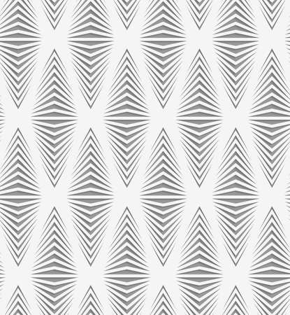 perforated: Stylish 3d pattern. Background with paper like perforated effect. Geometric design.Perforated paper with onion shapes. Illustration