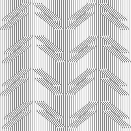 perforated: Stylish 3d pattern. Background with paper like perforated effect. Geometric design.Perforated paper with tree branches on continues lines.