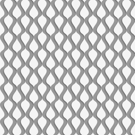 perforated: Stylish 3d pattern. Background with paper like perforated effect. Geometric design.Perforated paper with vertical drops. Illustration