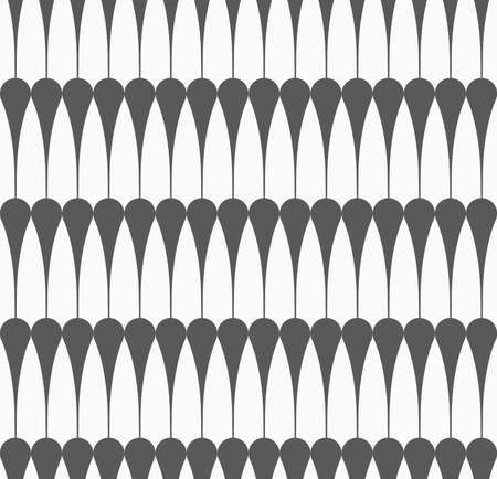 tillable: Monochrome abstract geometrical pattern. Gray vertical clubs. Stock Photo