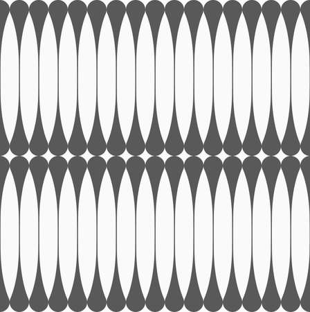 tillable: Monochrome abstract geometrical pattern. Gray vertical reflecting clubs.