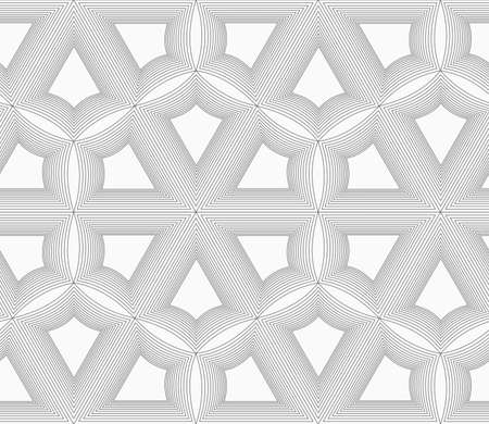 unevenly: Monochrome abstract geometrical pattern. Gray unevenly striped grid.