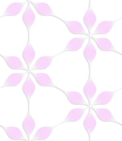 Abstrakte Nahtlose Hintergrund Mit 3D-schnitt Von Farbigem Papier ...