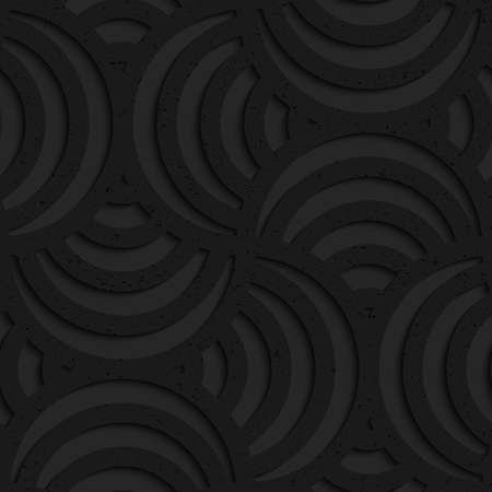 plastic texture: Seamless geometric background. Pattern with 3D texture and realistic shadow.Textured black plastic striped pin will.