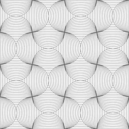 Grijs naadloos geometrisch patroon. Eenvoudige zwart-wit textuur. Abstracte achtergrond. De slanke grijze gestreepte speld zal. Stock Illustratie