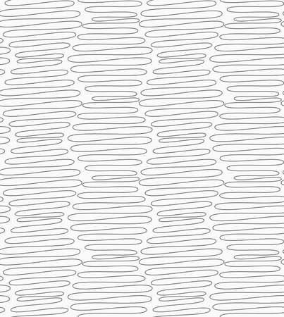 tillable: Gray seamless geometrical pattern. Simple monochrome texture. Abstract background.Slim gray vertical scribbled hexagons. Illustration
