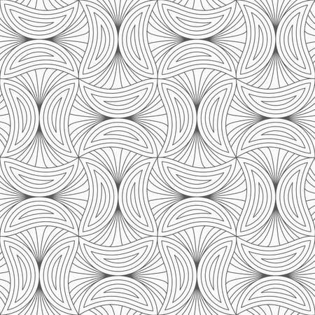 tillable: Gray seamless geometrical pattern. Simple monochrome texture. Abstract background.Slim gray striped mushrooms.