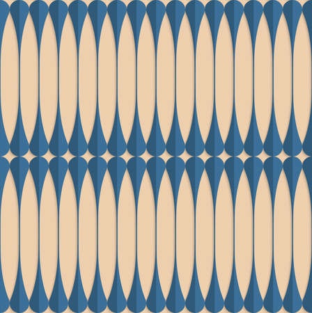 paper fold: Vintage colored simple seamless pattern. Background with paper fold and 3d realistic shadow.Retro fold blue clubs.