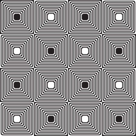 alternating: Black and white alternating squares.Seamless stylish geometric background. Modern abstract pattern. Flat monochrome design. Illustration