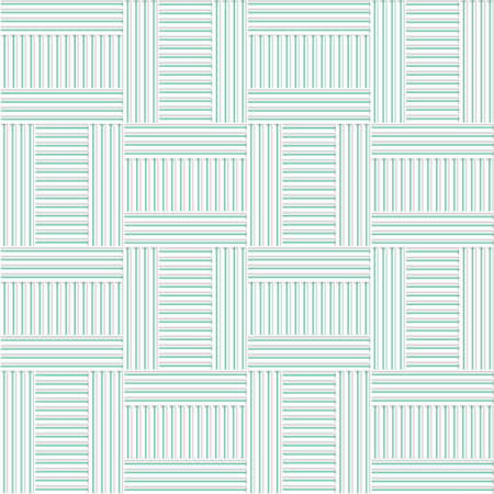 cut out paper: White 3D with colors green striped T shapes.Abstract geometrical background. Pattern with cut out paper effect and realistic shadows.