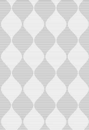 Shades of gray striped dark and light bulging waves merging.Seamless stylish geometric background. Modern abstract pattern. Flat monochrome design.