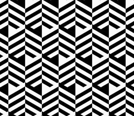 Black and white striped strips.Seamless stylish geometric background. Modern abstract pattern. Flat monochrome design.