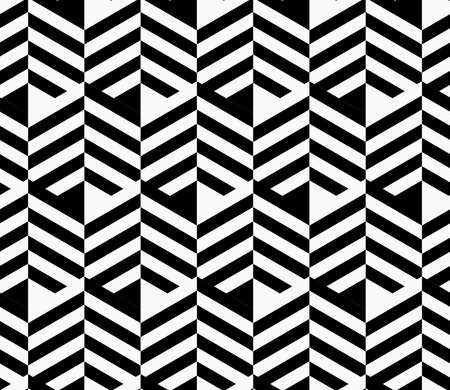 Black and white striped strips.Seamless stylish geometric background. Modern abstract pattern. Flat monochrome design. Stock fotó - 46321627