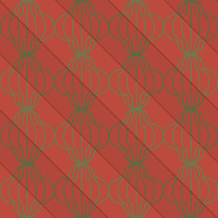 Retro 3D brun diagonal bulbs.Abstract rayé de motif en couches. fond de couleur vive avec des ombres réalistes et te effet tridimensionnel. Banque d'images - 46323107