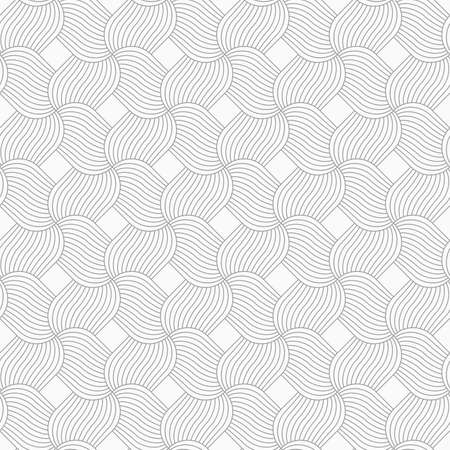 pedals: Slim gray hatched pedals in turn.Seamless stylish geometric background. Modern abstract pattern. Flat monochrome design.