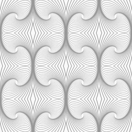 tillable: Slim gray vertical striped building shapes.Seamless stylish geometric background. Modern abstract pattern. Flat monochrome design. Illustration