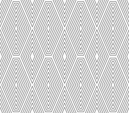 tillable: Slim gray vertical diamonds with offset.Seamless stylish geometric background. Modern abstract pattern. Flat monochrome design.