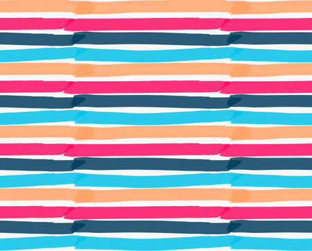 tilable: Marker drawn horizontal stripes.Hand drawn with marker seamless background.Modern hipster style design.