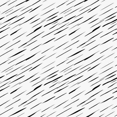 Marqueur noir dessiné hatches.Hand minces diagonales simples dessinés avec un pinceau de fond sans soudure. Abstract texture. conception tilable irrégulière moderne. Vecteurs
