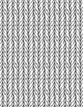up marker: Black marker up and down chevrons.Free hand drawn with ink brush seamless background. Abstract texture. Modern irregular tilable design. Illustration