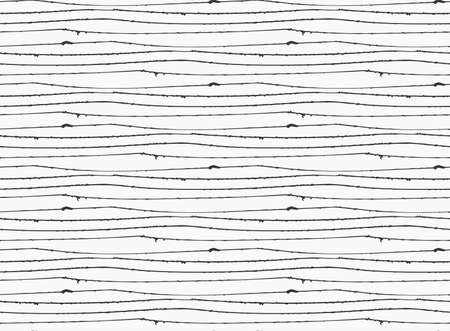 inked: Inked rough horizontal lines on white.Hand drawn with ink seamless background.Monochrome rough texture. Illustration