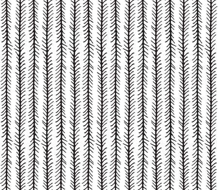 Black and white inked chevrons.Hand drawn with ink seamless background.Modern hipster style design.