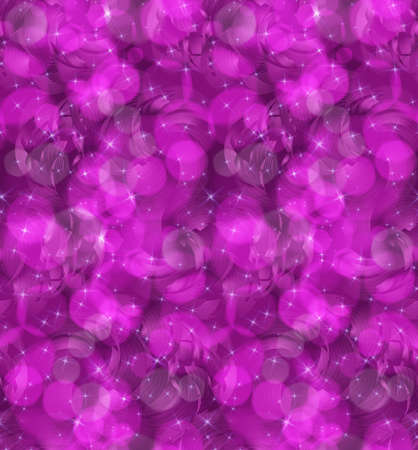 Bokeh 보라색 소용돌이 및 개. 완벽 한 패턴입니다. bokeh 조명 효과와 패턴입니다. 화려한 배경입니다.