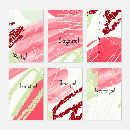 marker and crayon brush with doodles hand drawn creative invitation