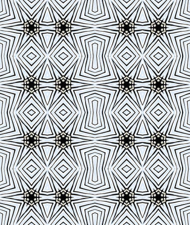 Seamless geometric abstract vector pattern
