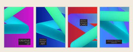 Résumé 3d liquide liquide motif de couleur créative modèle de conception moderne . lumineux swoosh swoosh barre .. barre de mouvement animation futuriste . vector illustration de fond futuriste Banque d'images - 96138994
