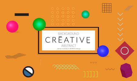 Minimal modèles de bannière universelle dans le style de fidélisation avec 3d 3d tendance rétro photo numérique . web néon web banner .vector Banque d'images - 96278052