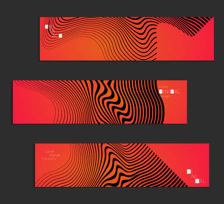 A Minimal banner templates with marble striped texture. Abstract bright color splash background. Social media web banner. Future geometric design with black marbling pattern on gradient backdrop.