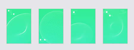 Minimal cover templates with futuristic 3D meshes. Abstract grid shape on bright gradient background. Social media web banner. Future geometric design.