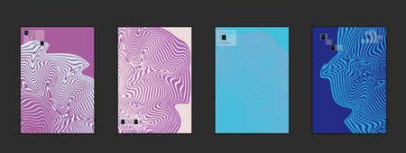 Modèles de couverture minimaliste avec texture en pierre grise. abstrait de la peinture de fond de couleur. conception de couleurs web . conception de modèle de couleur créative avec le motif de détresse sur fond dégradé . Banque d'images - 96429735